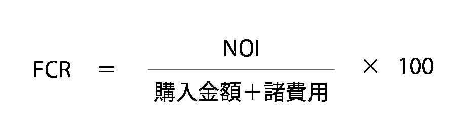 FCRの計算式