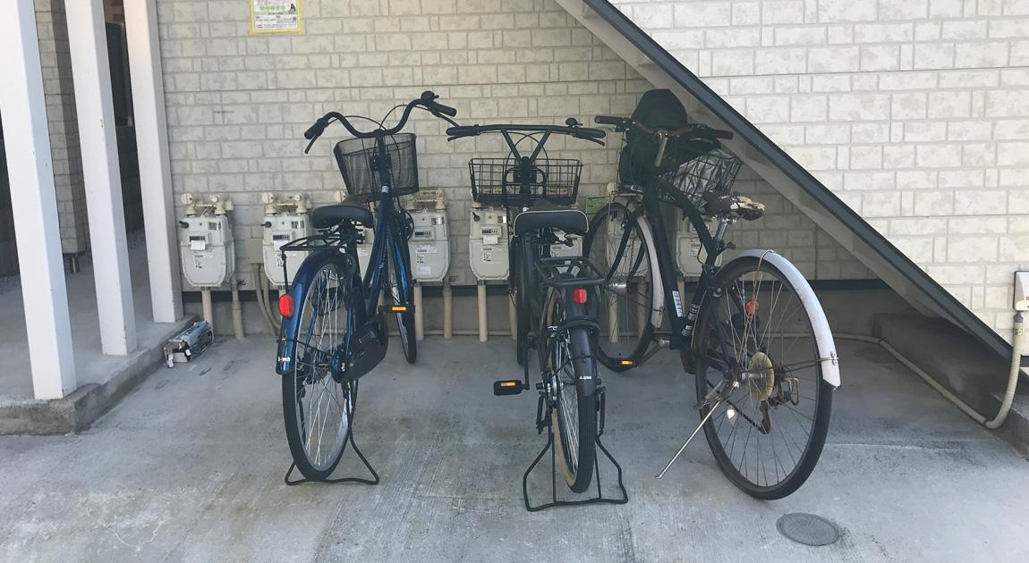 【問題解決事例】アパートの放置自転車を撤去して印象をよくしよう